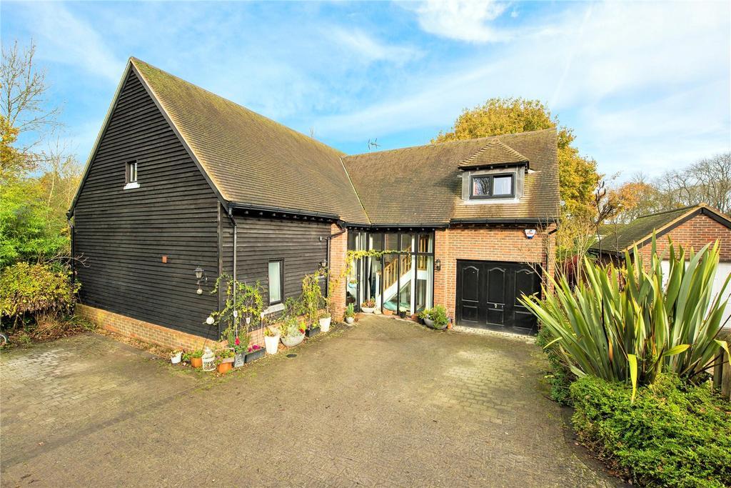 4 Bedrooms Detached House for sale in Spook Hill, North Holmwood, Dorking, Surrey, RH5