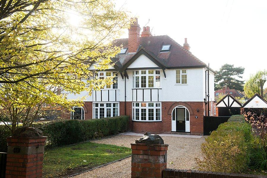 4 Bedrooms Semi Detached House for sale in Battenhall Road, Worcester, Worcestershire, WR5