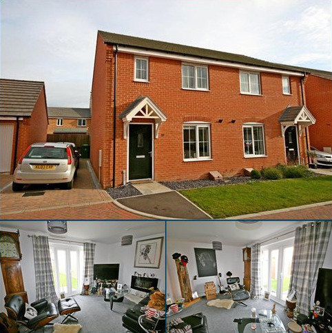 3 bedroom semi-detached house to rent - Hexham Avenue, Bourne, Lincolnshire, PE10