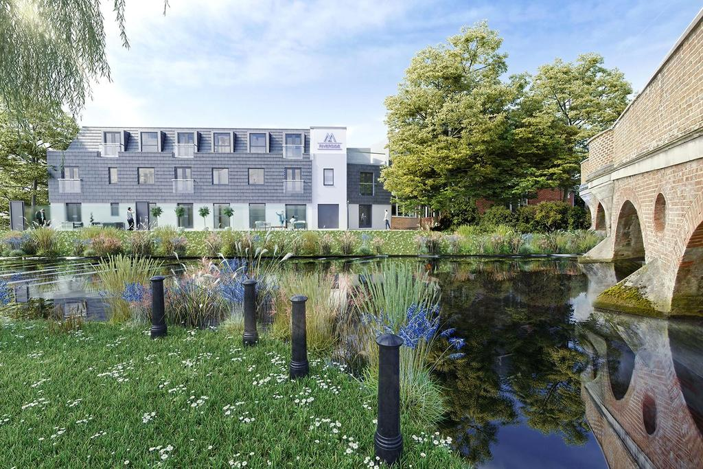 2 Bedrooms Flat for sale in Magna Riverside, Flambard Way, Godalming, Surrey, GU7