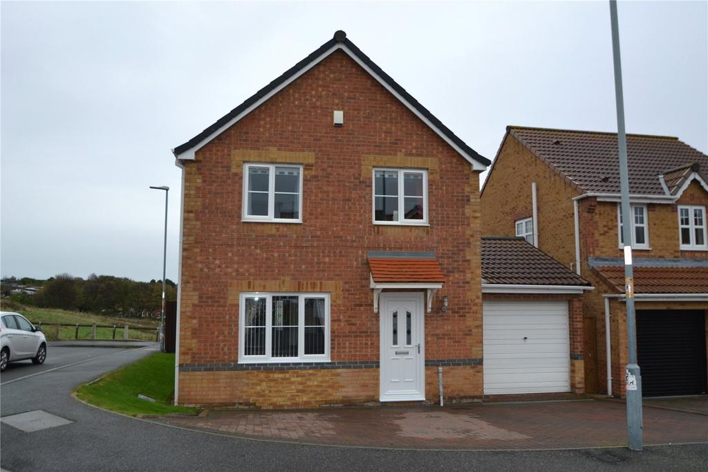 4 Bedrooms Detached House for sale in Holm Hill Gardens, Easington Colliery, Peterlee, Co.Durham, SR8