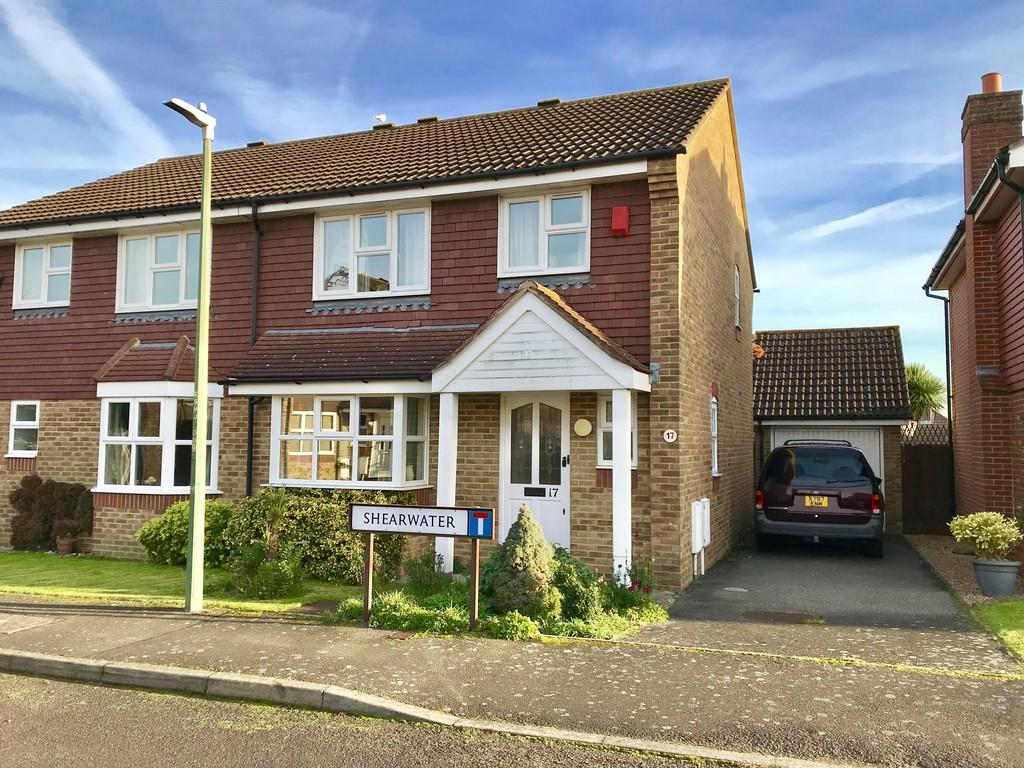 3 Bedrooms Semi Detached House for sale in Shearwater, Maidstone