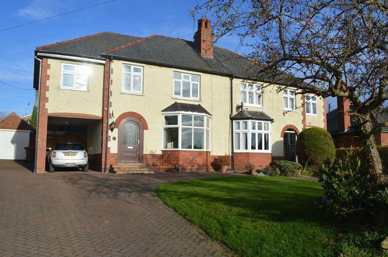 3 Bedrooms Semi Detached House for sale in Washingborough Road, Heighington