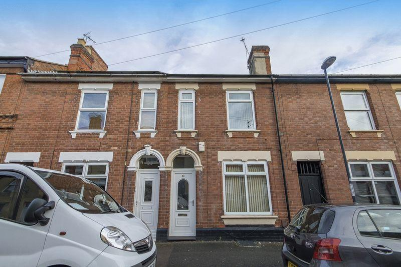 3 Bedrooms Terraced House for sale in SILVER HILL ROAD, DERBY