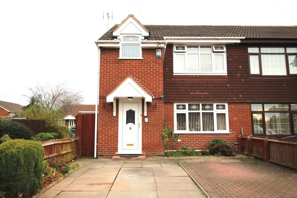 3 Bedrooms Semi Detached House for sale in Glaisdale Gardens, Wolverhampton
