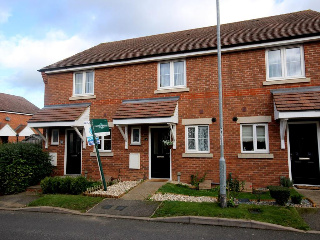 2 Bedrooms Terraced House for sale in Maple Close, Pulloxhill, MK45
