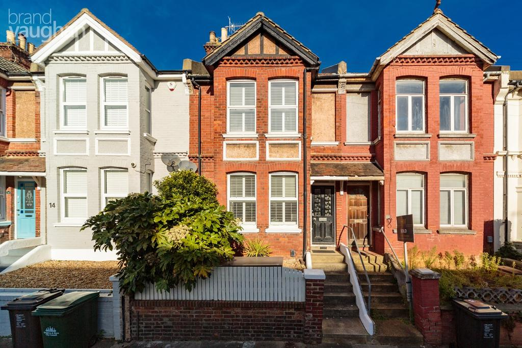 3 Bedrooms Terraced House for sale in Prinsep Road, Hove, BN3