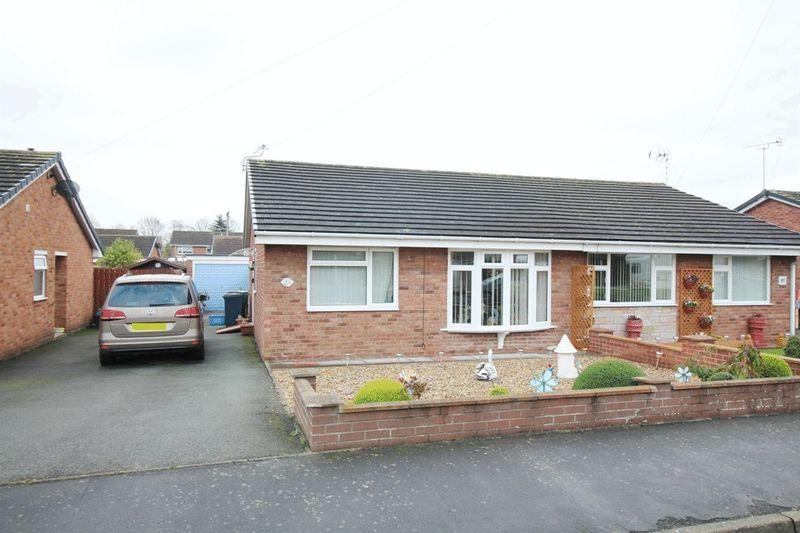 2 Bedrooms Semi Detached Bungalow for sale in Newfield Drive, Castlefields, Shrewsbury, SY1 2SL