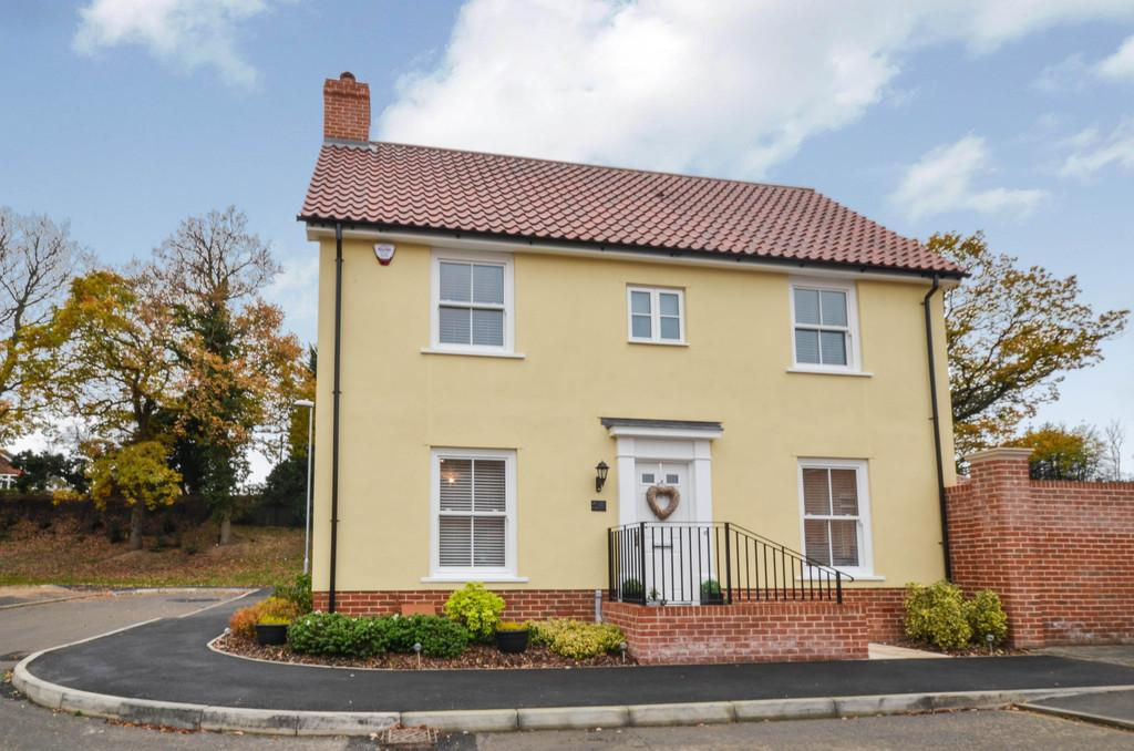 4 Bedrooms Link Detached House for sale in Butterfly Trail, Stanway, CO3 0AL