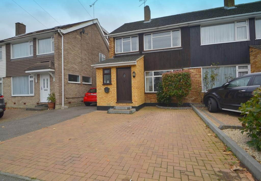 3 Bedrooms Semi Detached House for sale in Warley Hill, Brentwood, CM14 5HF