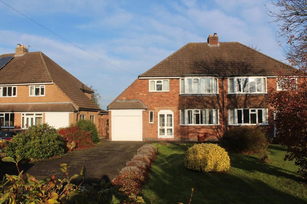 3 Bedrooms Semi Detached House for sale in Lodge Road, Knowle