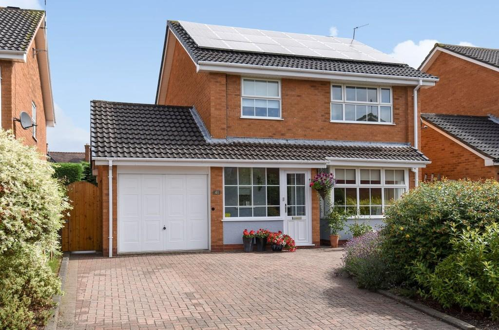 4 Bedrooms Detached House for sale in Saxon Close, Stratford upon Avon