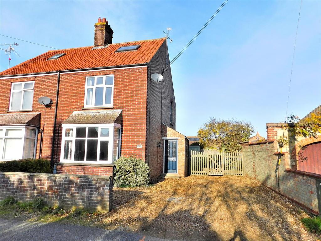 3 Bedrooms Semi Detached House for sale in Station Road, Snettisham, King's Lynn
