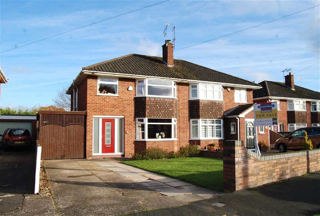 3 Bedrooms Semi Detached House for sale in Ascot Drive, Great Sutton, CH66