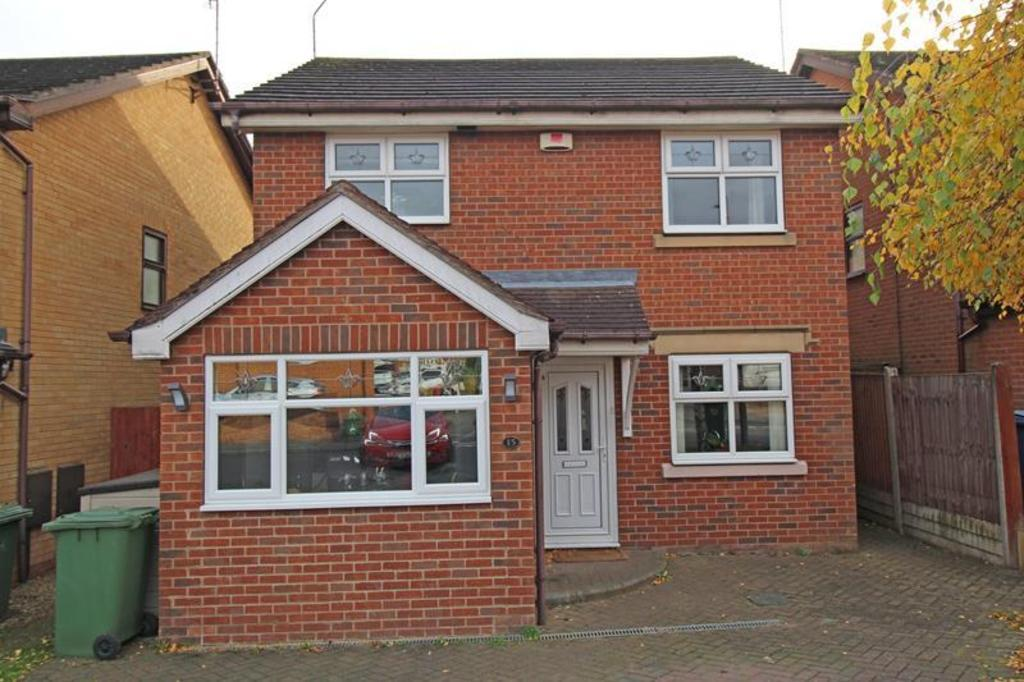 4 Bedrooms Detached House for sale in 15 The Bramblings, Worksop