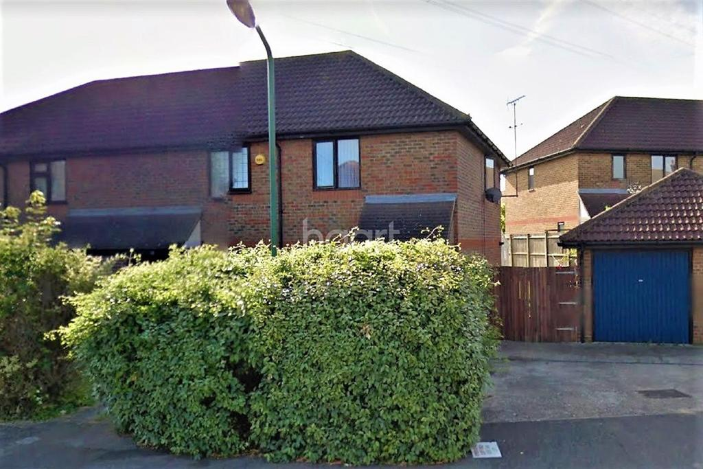 2 Bedrooms End Of Terrace House for sale in Greenhithe