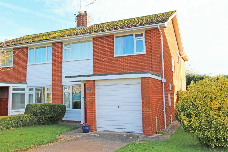 4 Bedrooms Semi Detached House for sale in Fleming Avenue, Sidmouth