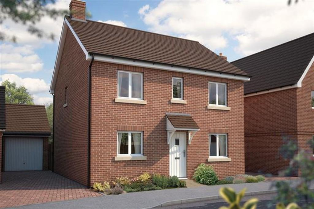 4 Bedrooms Detached House for sale in The Buxton, Turnstone Rise, Cranbrook