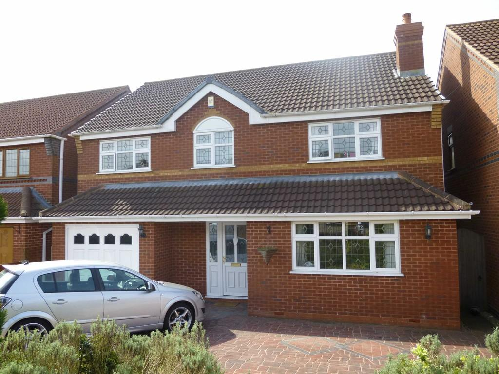 4 Bedrooms Detached House for sale in Burgoyne Street, Cannock