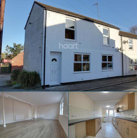3 bedroom end of terrace house for sale - Station Road, Tydd Gote