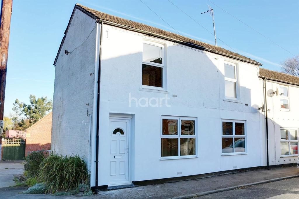 3 Bedrooms End Of Terrace House for sale in Station Road, Tydd Gote