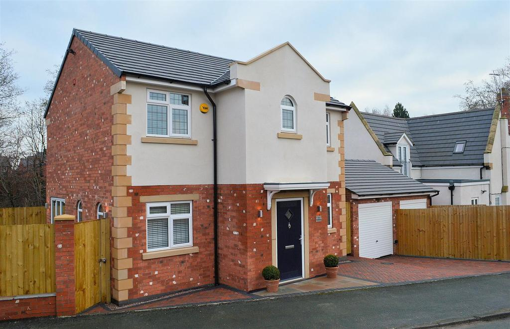 4 Bedrooms Detached House for sale in The Sidings, Moston Road, Sandbach