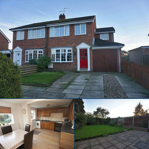 4 bedroom semi-detached house for sale - Cherry Drive, Holme-on-spalding-moor