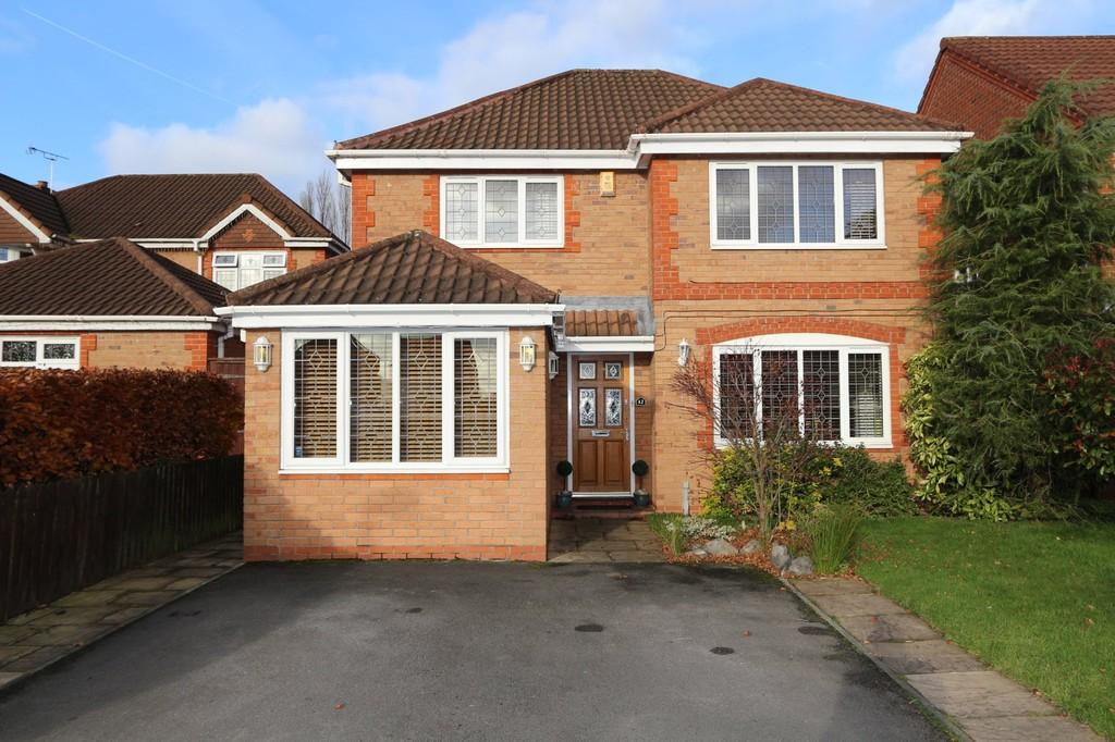 4 Bedrooms Detached House for sale in 12 Sunflower Meadow Irlam