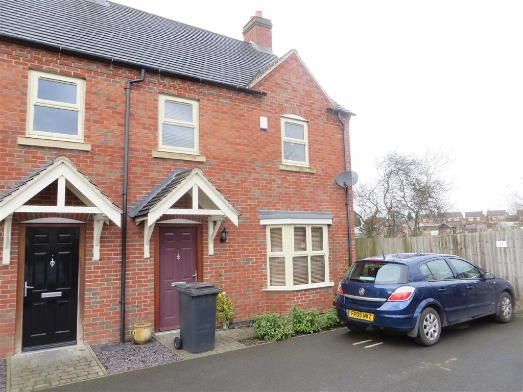 3 Bedrooms Semi Detached House for sale in Bakehouse Close, Coalville