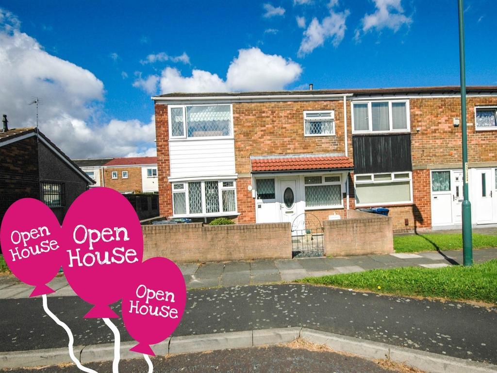 3 Bedrooms Terraced House for sale in Spenser Walk, South Shields