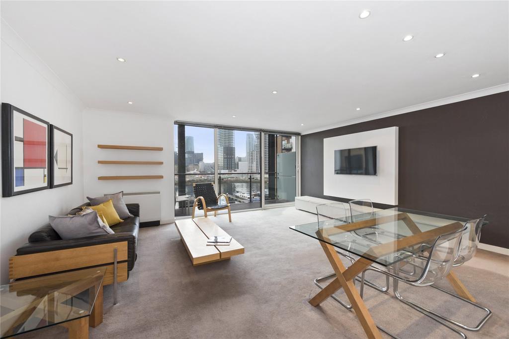 2 Bedrooms Flat for sale in Boardwalk Place, London, E14