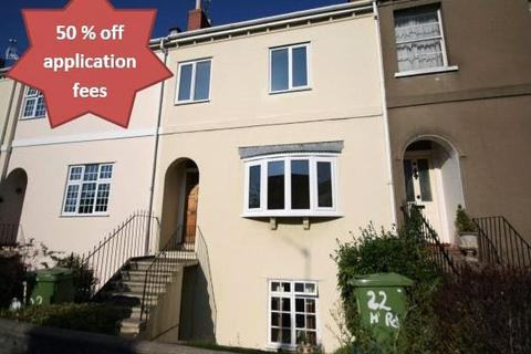 3 bedroom terraced house to rent - Hales Road, Cheltenham, Glos, GL52