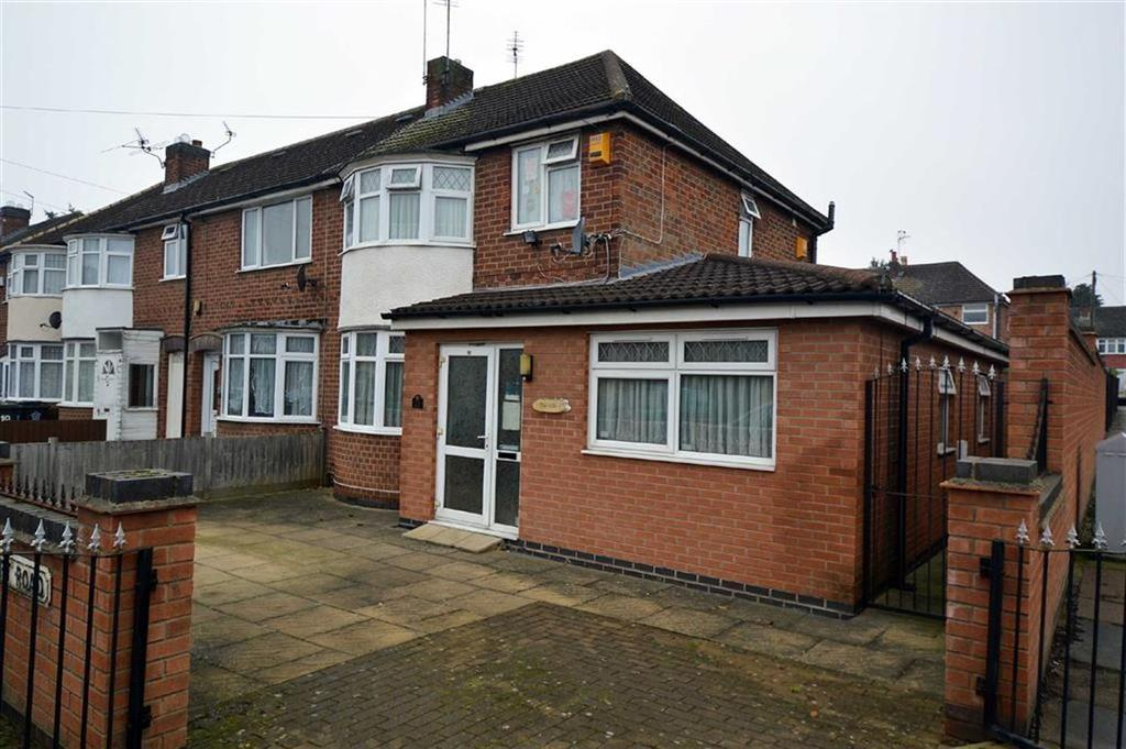 3 Bedrooms End Of Terrace House for sale in Abbeycourt Road, Off Abbey Lane