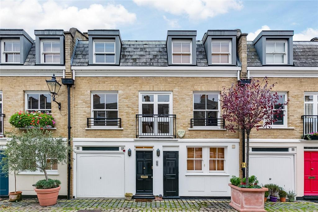 4 Bedrooms Mews House for sale in Elnathan Mews, Little Venice, London