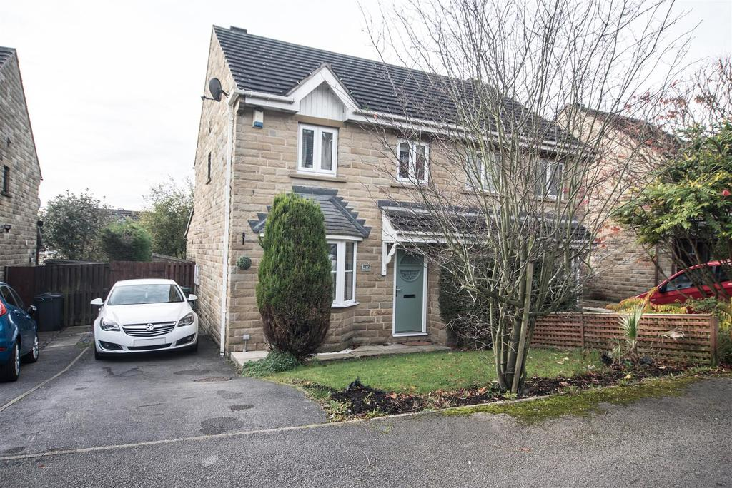 3 Bedrooms Semi Detached House for sale in Park Avenue, Shelley, Huddersfield