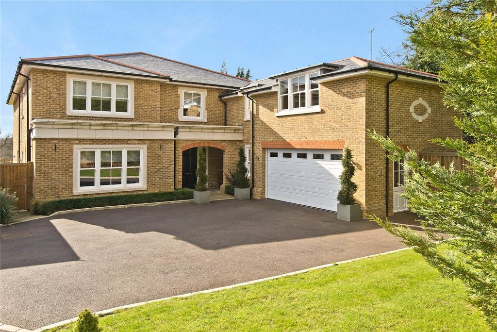 5 Bedrooms Detached House for sale in Leatherhead Road, Oxshott, Leatherhead, Surrey, KT22