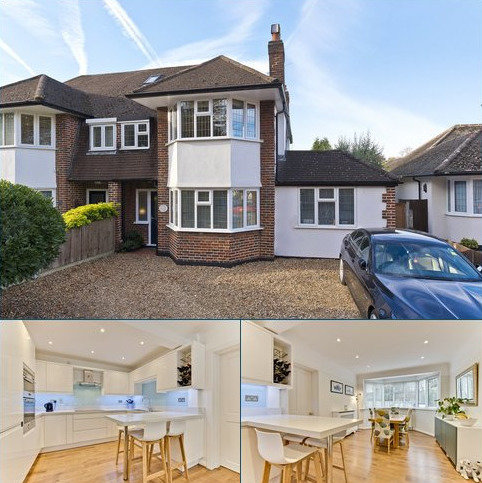 4 bedroom semi-detached house to rent - West Grove, Hersham, Walton-on-Thames, Surrey, KT12