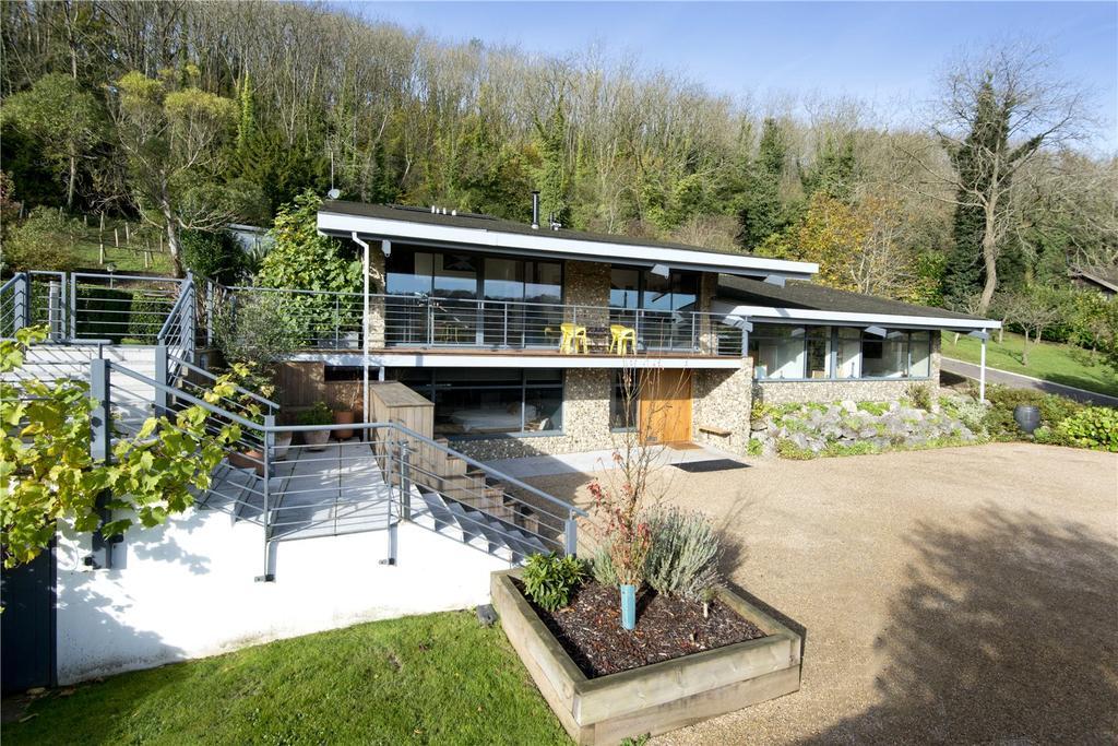 5 Bedrooms Detached House for sale in Knatts Valley Road, Knatts Valley, Sevenoaks, Kent, TN15