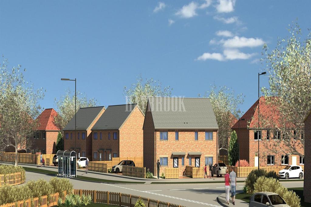 3 Bedrooms Semi Detached House for sale in Plot 4 Heritage Mews, Elsecar, Barnsley