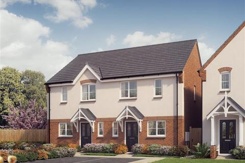 3 bedroom terraced house for sale - Plot 4, The Carrington, Saxon Grove, Sundorne, Shrewsbury, SY1 3RG