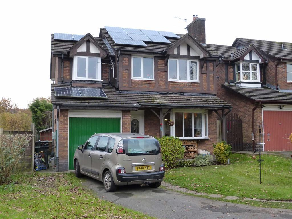 4 Bedrooms Detached House for sale in Wingfield Grove, Glossop