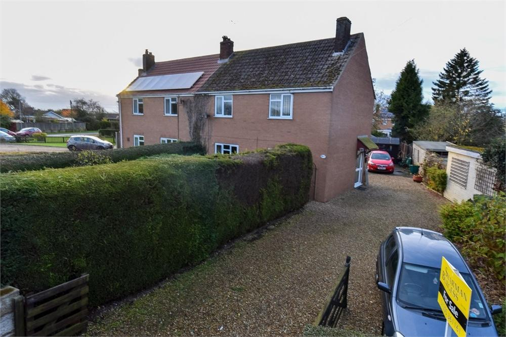 3 Bedrooms Semi Detached House for sale in School Lane, Old Leake, Boston, Lincolnshire