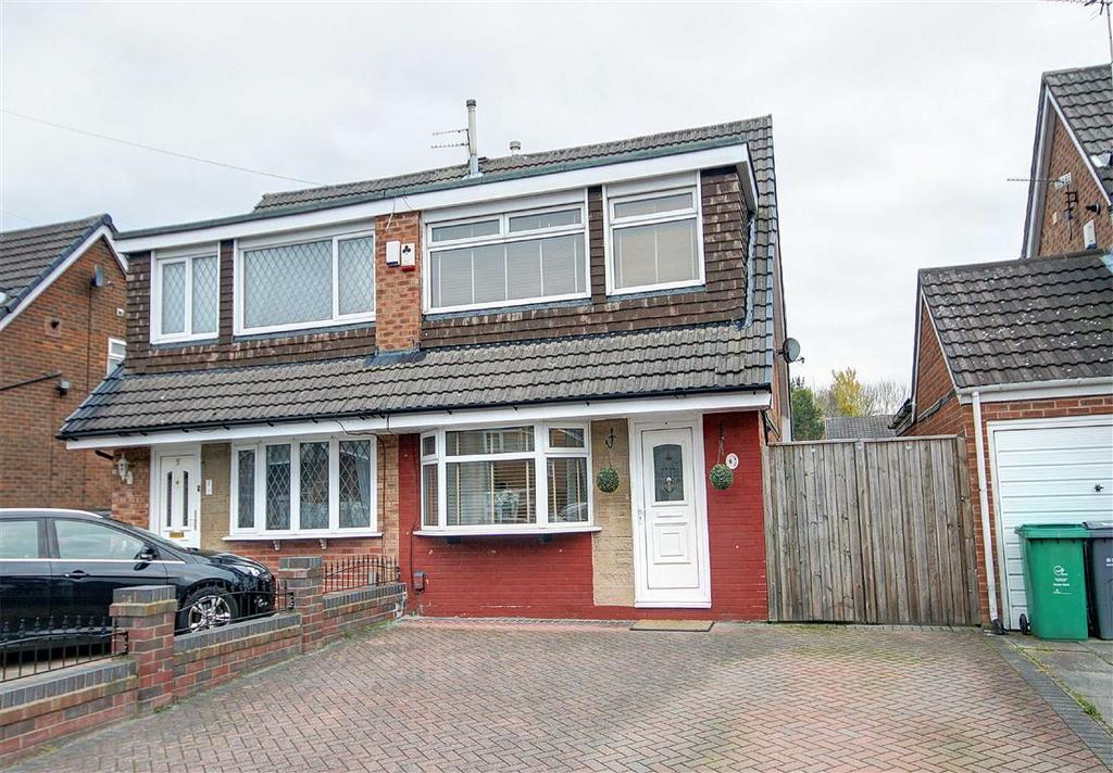 3 Bedrooms Semi Detached House for sale in Bedlington Close, Baguley