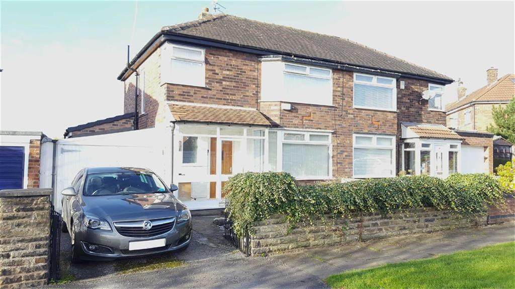 3 Bedrooms Semi Detached House for sale in Newcroft Road, Urmston, Manchester