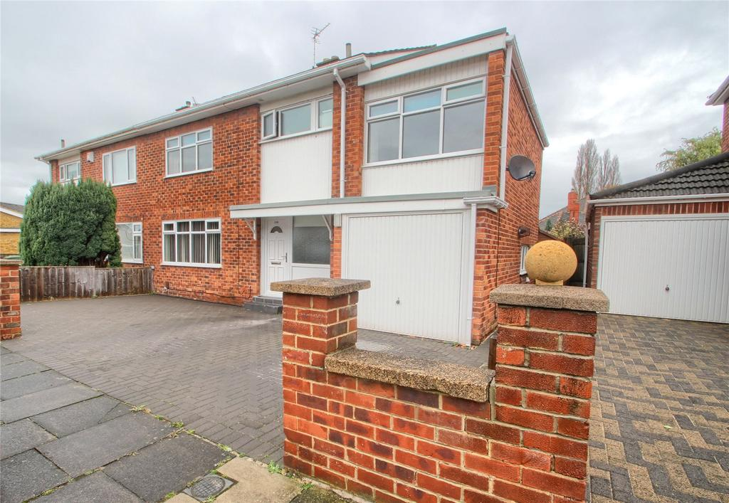 4 Bedrooms Semi Detached House for sale in Harlsey Road, Hartburn