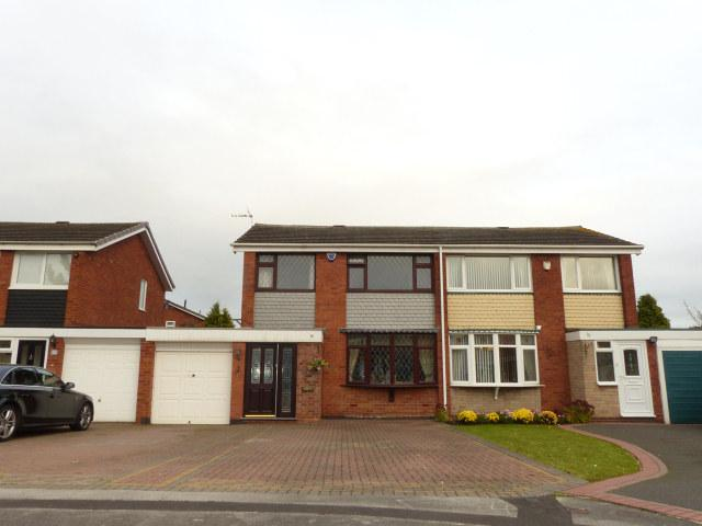 3 Bedrooms Semi Detached House for sale in Geeson Close,Castle Vale,Birmingham