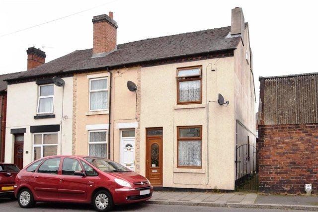 2 Bedrooms End Of Terrace House for sale in Union Street,Bridgtown,Cannock