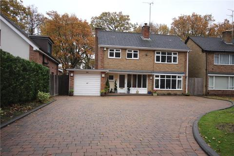 4 bedroom detached house for sale - Woodlea Drive, Solihull, West Midlands, B91