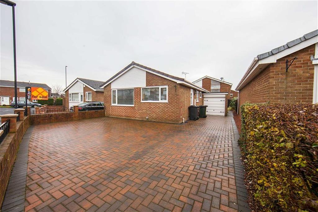 3 Bedrooms Detached Bungalow for sale in Welwyn Close, Redesdale Park, Wallsend, NE28