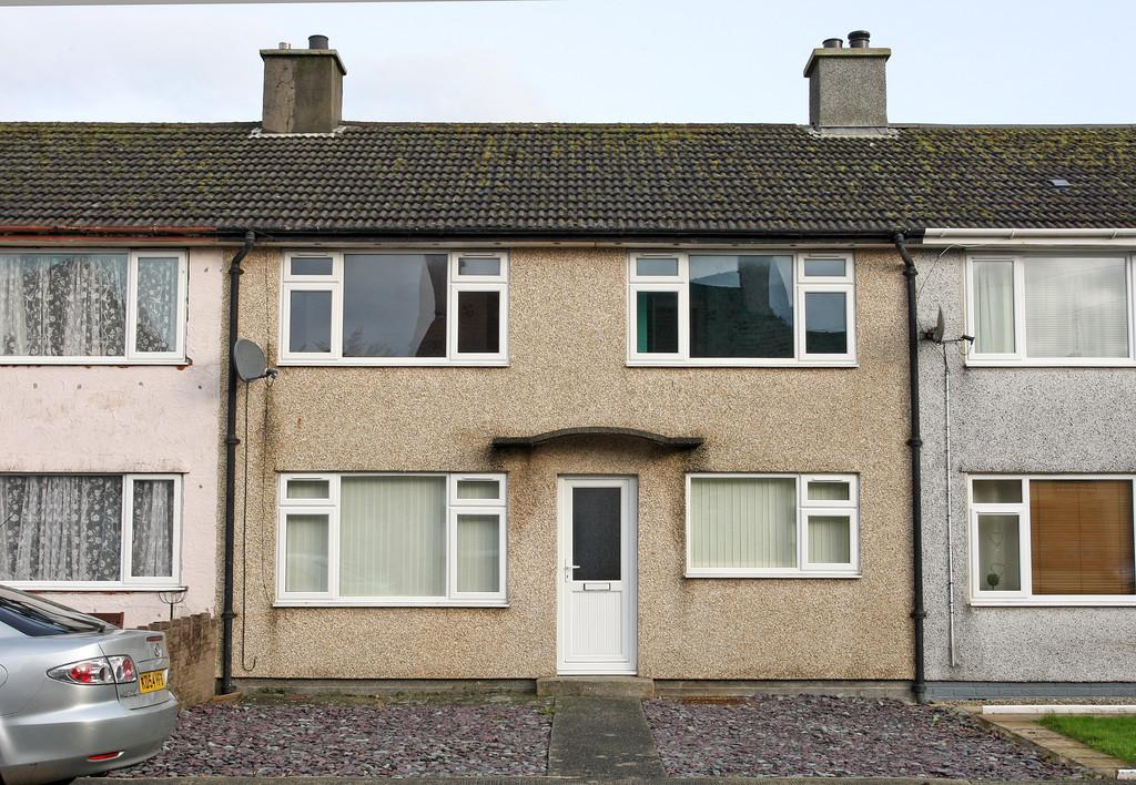 3 Bedrooms Terraced House for sale in Groeslon Cottages, Brynsiencyn, North Wales